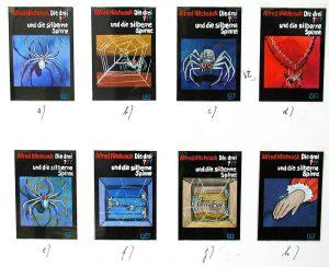 Entwurf, Silberne Spinne © Mittelrhein-Museum / Sammlung Bogucki