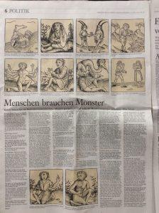 """FAZ: """"Wer hat Angst vor dem Monster?"""" (2015"""