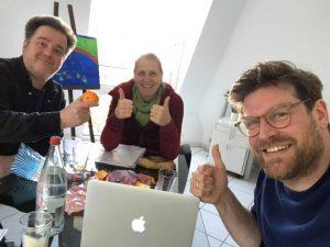 Autorentreffen mit Ivar Leon Menger, Anette Strohmayer und Raimon Weber