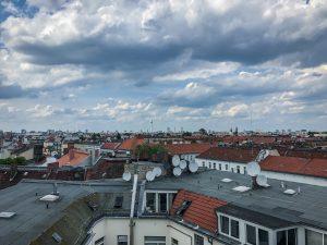 Skyline von Berlin.