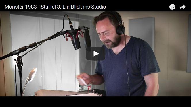Monster 1983 - Blick ins Studio