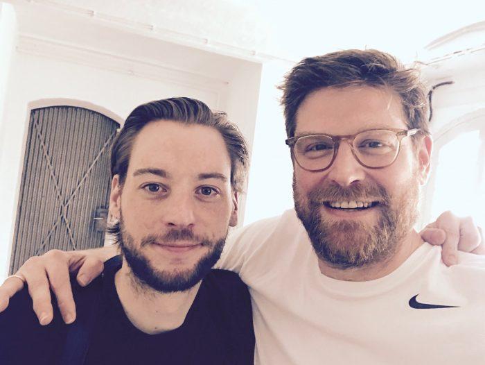 Tommi Schneefuß und Ivar Leon Menger