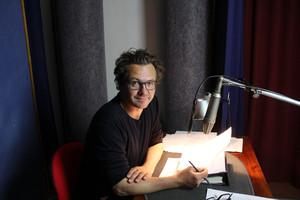 Andreas Fröhlich bei der Studioaufnahme von Prinzessin Insomnia