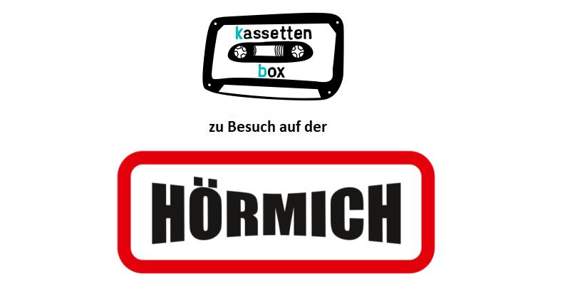 kassettenbox auf der HÖRMICH 2018