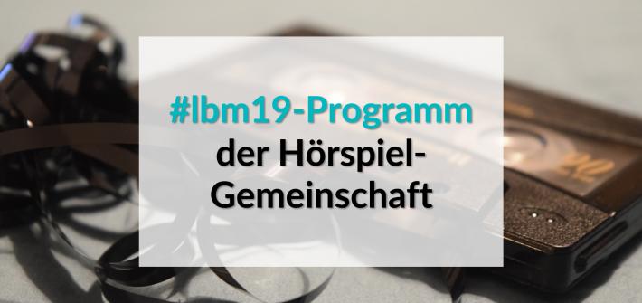 Leipziger Buchmesse Programm der Hörspiel-Gemeinschaft