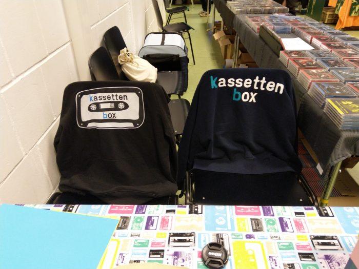 kassettenbox Stand